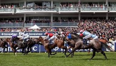 The famous Epsom horse race.